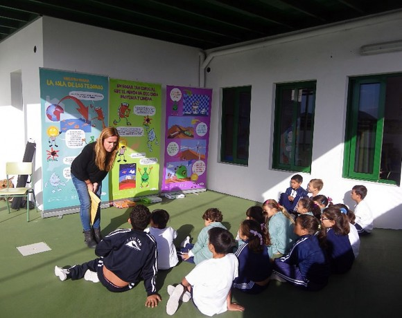 Guime, María Auxiliadora and Liria Schools joined in the Schools of the Biosphere Project