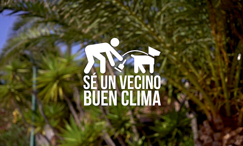Teguise launches a new civic campaign # SéUnVecinoBuenClima (Be A Neighbor Good Weather)