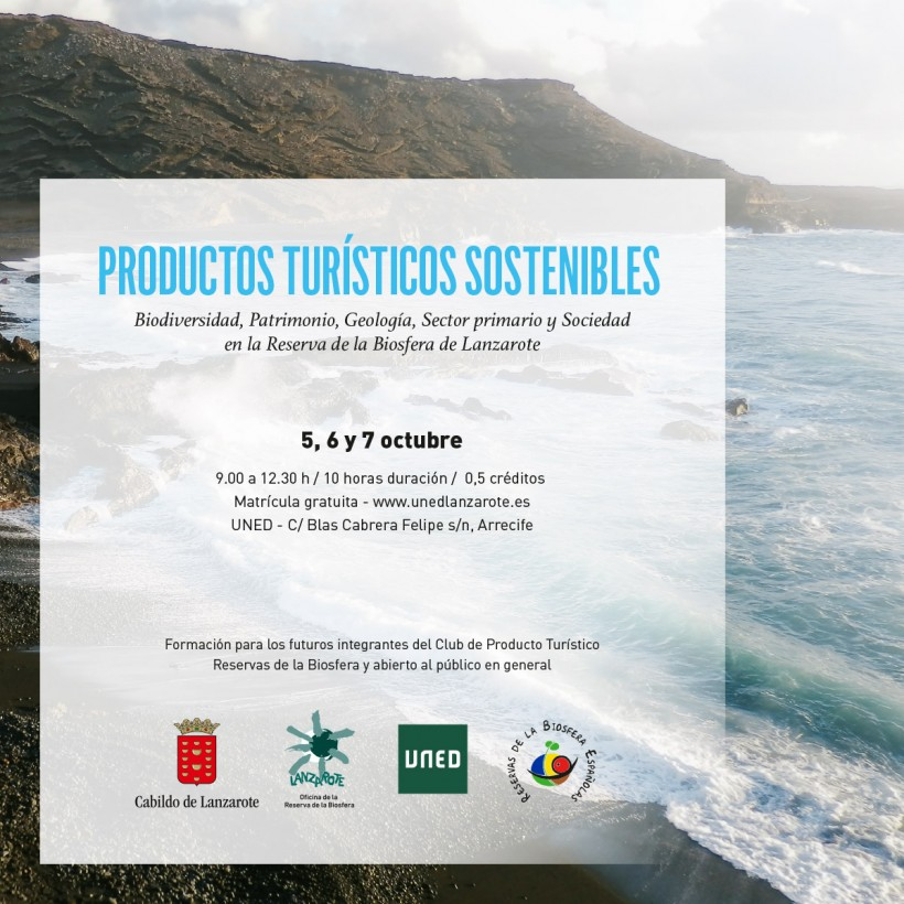 UNED training for companies interested in joining the Tourism Product Club Biosphere Reserve of Lanzarote from Turespaña