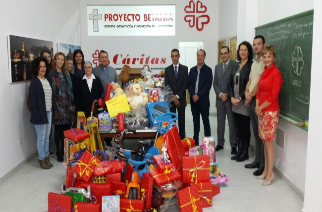 "The ""3rd Christmas Toy Collection Campaign"" collects more than 600 gifts"