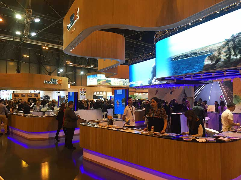 Lanzarote attends FITUR 2017 to intensify its solid alliances with the Spanish tourism and the main European markets.