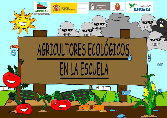 "ADERLAN launches the project ""Ecological farmers at school"""