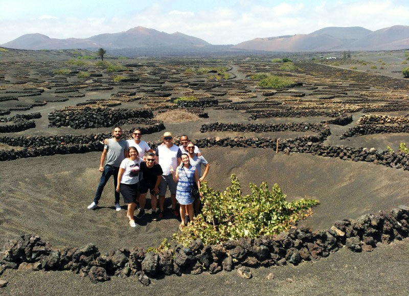 Five Canadians 'influencers' enjoy the charms of Lanzarote