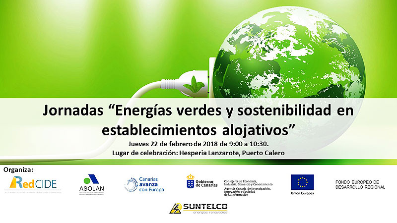 The ASOLAN´s Red CIDE point encourage Green Energies and Sustainability