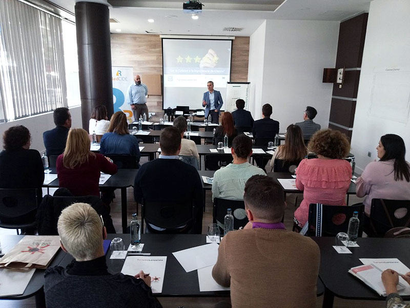 Canary Network of Innovation and Business Development Centers (CIDE – Red Canaria de Centros de Innovación y Desarrollo Empresarial) and Turismo Lanzarote bet on the Customer Experience to improve the competitiveness of The System of Quality on Tourist Destination SICTED companies