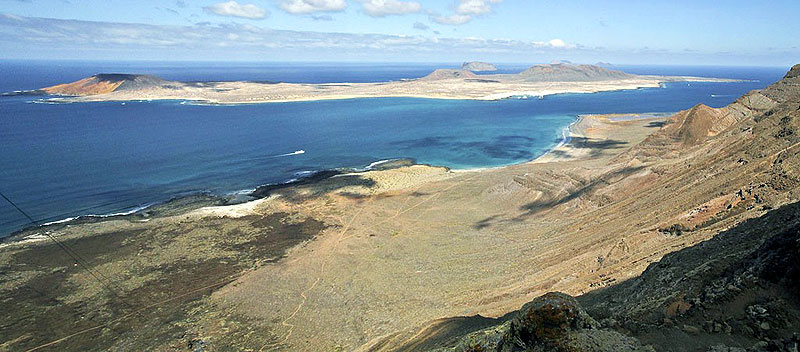 The photovoltaic energy can contribute up to 45% of the electricity that the Canary Island of La Graciosa needs