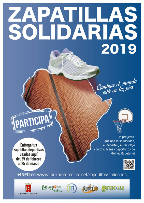 "Sandos Papagayo supports the ""Zapatillas Solidarias"" Shoe Project"